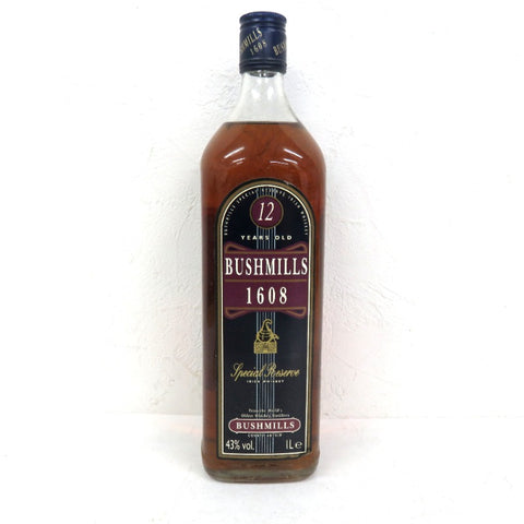 Unopened BUSHMILLS 12 Year 1000 ml Box None