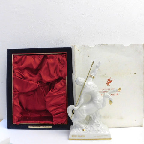 Unopened REMY MARTIN Centaurus Limoges White Pottery 700 ml with box