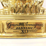 Unopened JANNEAU XO Eagle Gold Pottery 700 ml Box None