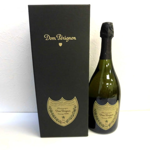 Unopened Don Perignon Vintage 2006 White Brut 750 ml with Box