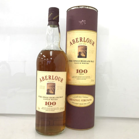 Unopened pure single highland malt with 1000 ml box