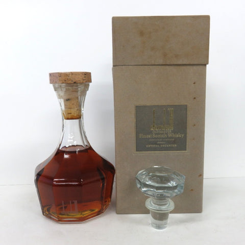 Unopened Dunhill Old Master Crystal Decanter 700 ml with Box