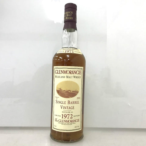 Unopened Glenmorangie 22 year single barrel vintage 1972-1994 750ml box none