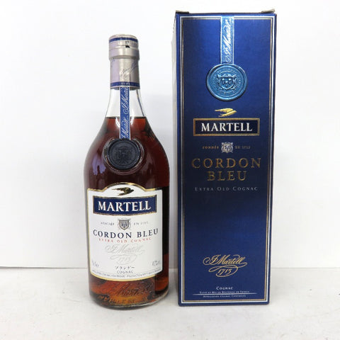 Unopened MARTELL Cordon Blue 700 ml with box