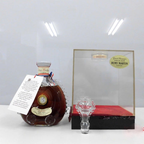 Unopened REMY MARTIN Louis XIII clear 700 ml with box