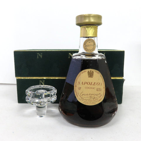 Unopened COURVOISIER Napoleon Baccarat 700 ml with box