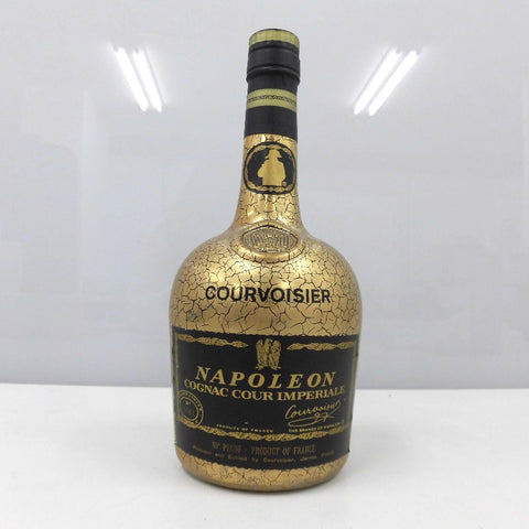 Unopened COURVOISIER Napoleon Cool Imperial Gold 700ml No box