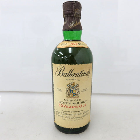 Unopened Ballantine's 30 years old 750ml without box