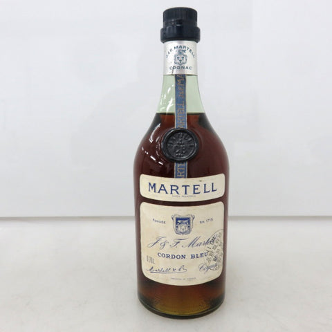 Unopened MARTELL Cordon blue Old 700ml Without box