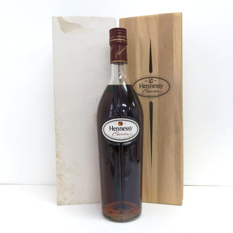 Unopened Hennessy cuvettes 700ml with box
