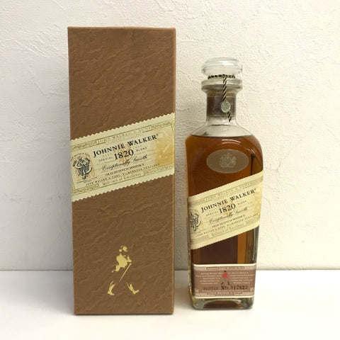 未開封 Johnny Walker 1820 700ml 箱付