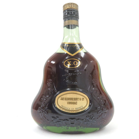 Unopened JAS Hennessy XO Green bottle Gold cap 700 ml Without box