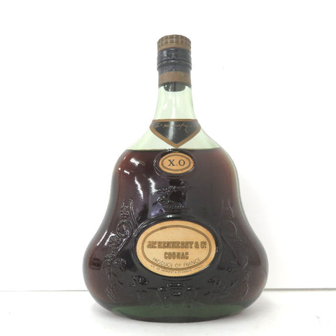 Unopened JAS Hennessy XO Green bottle 700 ml Without box