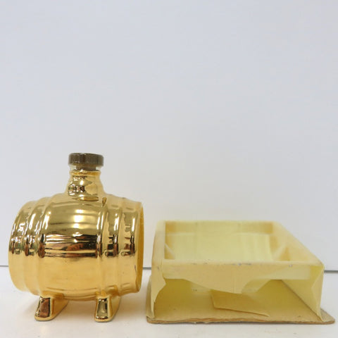Unopened CAMUS Napoleon mini-bottle barrel gold 50 ml no box