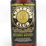 Unopened ANDERSON CLUB 12 years 750ml With box