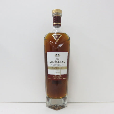 Unopened MACALLAN Reikask batch NO1 700ml without box
