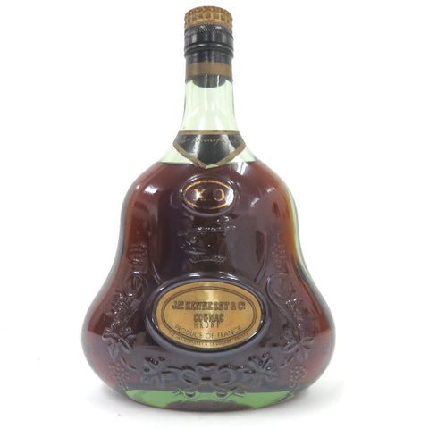 Unopened JAS Hennessy XO gold cap green 700ml without box