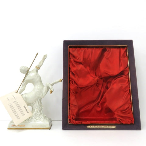 Unopened REMY MARTIN Centaur Limoges white pottery 700ml With box