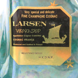 Unopened LARSEN Viking ship green pottery 700ml With box