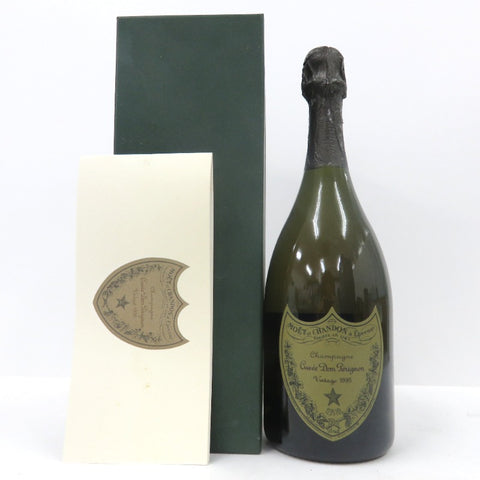 Unopened Dom Pérignon vintage 1995 white 750ml with a box