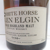 Unopened WHITE HORSE Glen Elgin 750ml with a box