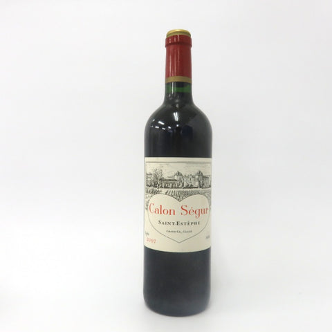 Unopened CHATEAU Calon Segur 2007 750ml Without box
