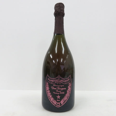 Unopened Dom Pérignon Vintage 2006 Rose 750 ml without box