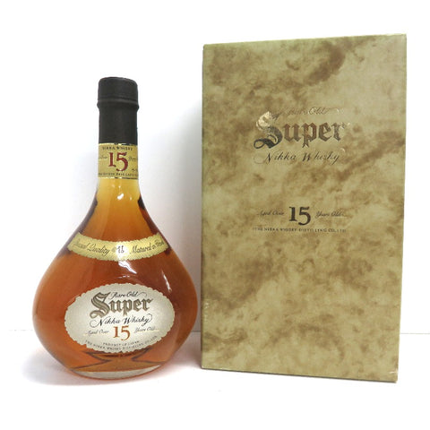 Unopened Nikka NIKKA Super Nikka 15 years 700ml With box