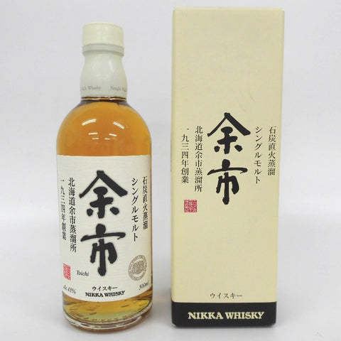 Unopened Nikka NIKKA Yoichi single malt 500ml with a box