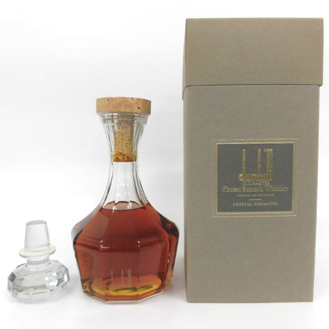 Unopened Dunhill Old Master Decanter 700ml with replacement plug with box