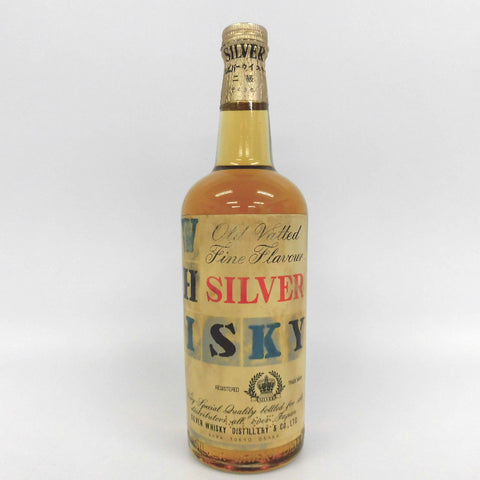 Unopened Suntory Silver whiskey second grade 640ml Without box
