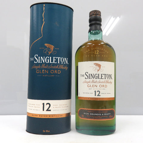 Unopened SINGLETON of Glen old 12 years 700ml With box