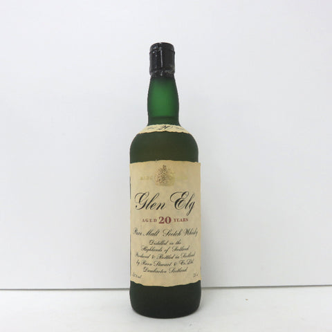 Unopened Glen Elg rare old 20 years 750 ml without box