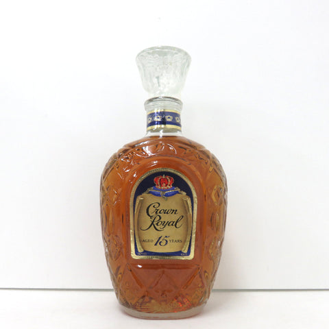 Unopened Crown Royal 15 years 750 ml without box
