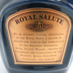 Unopened Royal Salute 21 years blue pottery 700ml without box