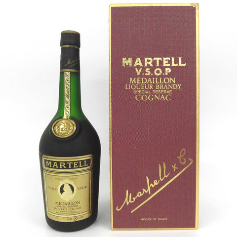Unopened MARTELL VSOP medal special grade rating 700 ml with a box