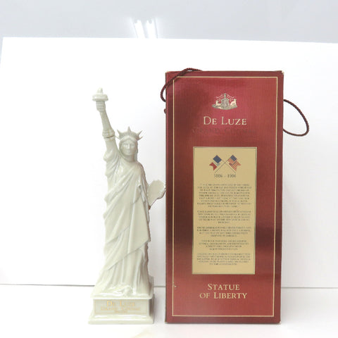 Not opened DE LUZE Statue of Liberty pottery 700ml With box