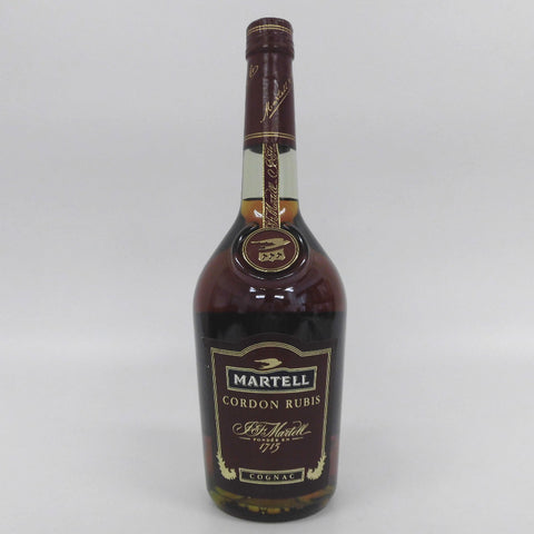 Unopened MARTELL Cordon ruby 700 ml without box