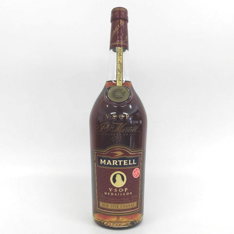 Unopened MARTELL Medaillon Red 1000ml Without box