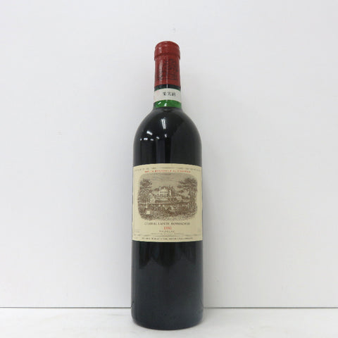 Unopened Chateau Lafit Rothschild 1981 Red 700ml No box