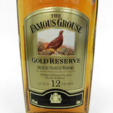 Unopened FAMOUS GROUSE 12 years Gold reserve 700ml with a box
