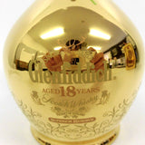 Unopened Glenfiddich 18 years Superior Reserve Gold pottery 700ml With box