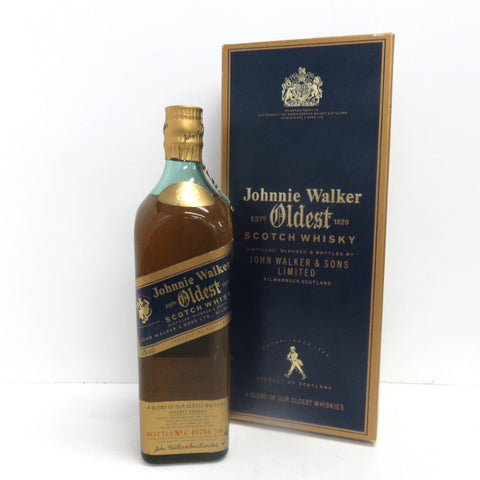 Unopened Johnny Walker Oldest 750ml With box