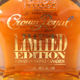 Unopened Crown Royal Limited 750 ml with a box