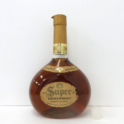 Unopened Nikka NIKKA Super Rare Old Special Price List Price 3785ml Without box