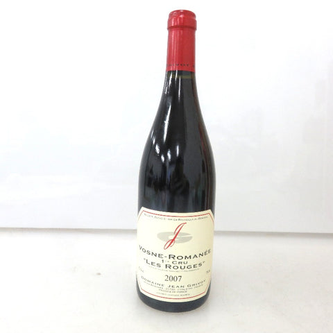 Unopened Premiere ・ Cru Les ・ rouge 2007 750 ml without box