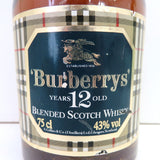 Unopened BURBERRY 12 years 750 ml without box