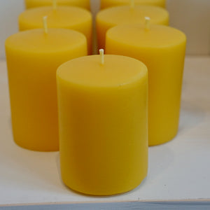 "2.5"" Pillar Pure Beeswax Candle"