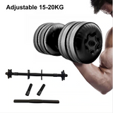 Water Filled Adjustable Dumbbells Weight 20KG Environmental Training Arm Muscle Strength Training Fitness Dumbbell
