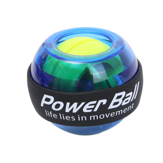 LED Wrist ball Trainer Relax Gyroscope Ball High Quality Muscle Power Ball Gyro Arm Exerciser Strengthener Fitness Equipments